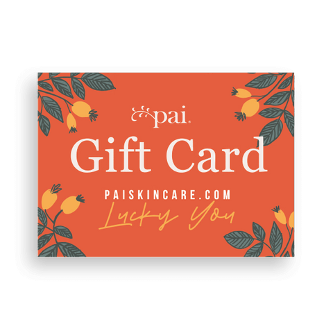 Pai Skincare Gift Card 100 Gift Card