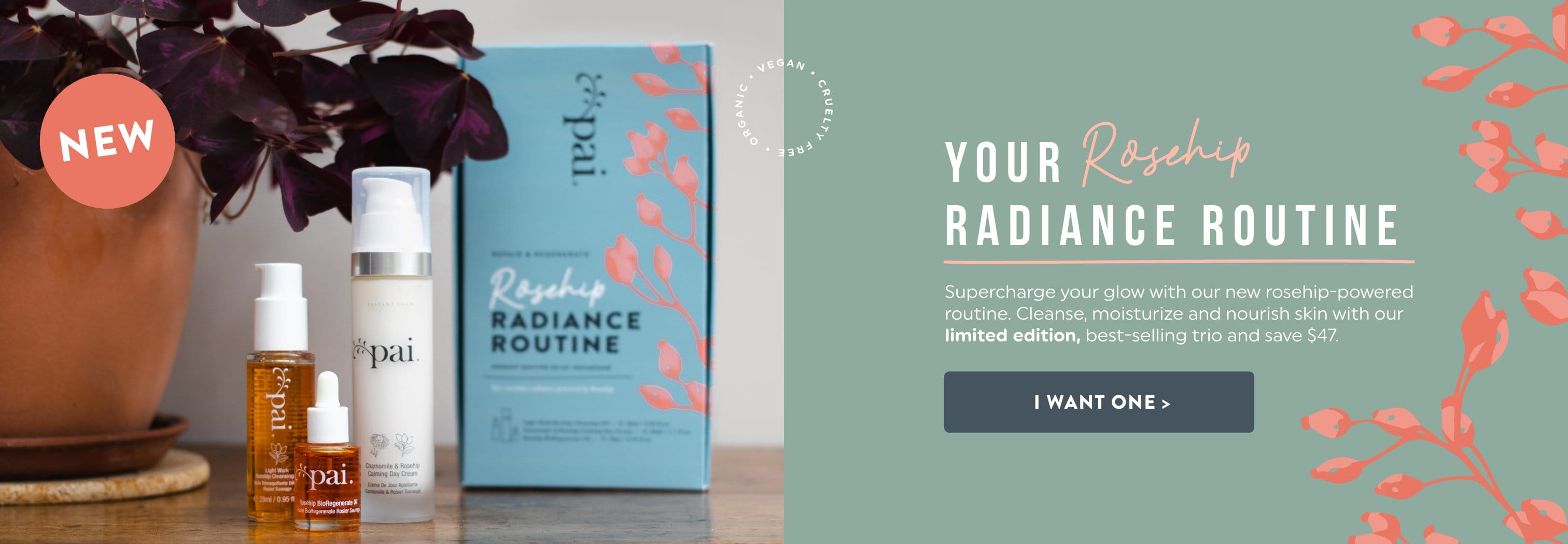 New: Rosehip Radiance Routine Kit