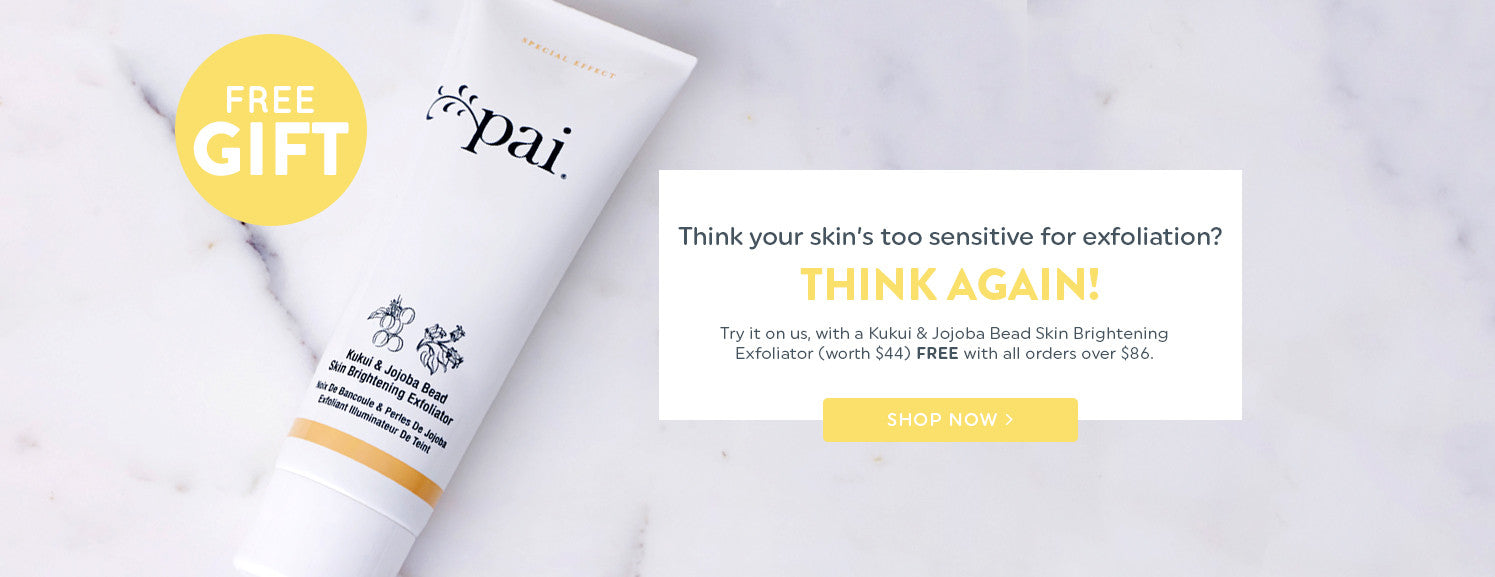 Think your skin's too sensitive for exfoliation? Think again!