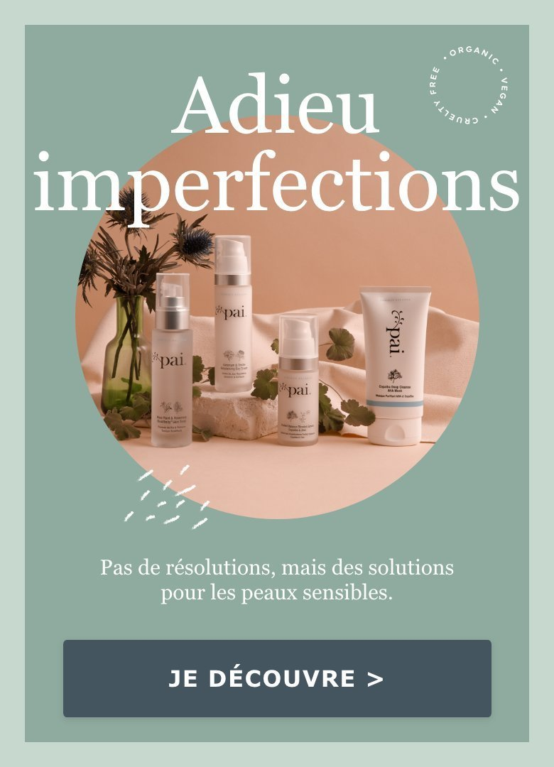 Adieu imperfections