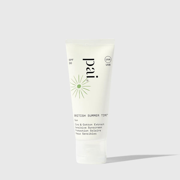 Pai Skincare Sunscreen British Summer Time Zinc & Cotton Extract SPF 30 Sensitive Sunscreen
