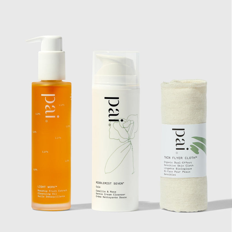 Pai Skincare Bundle Double Cleanse Cream & Oil Cleanser Bundle