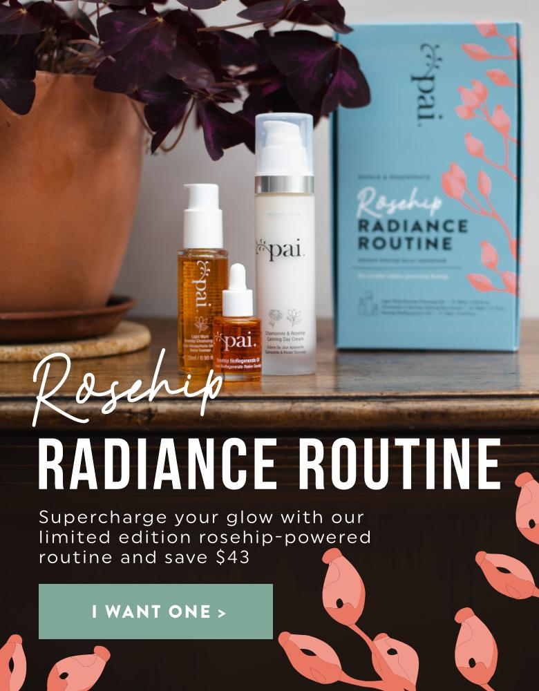 NEW | Save $43 with our Limited Edition Rosehip Routine Radiance Kit