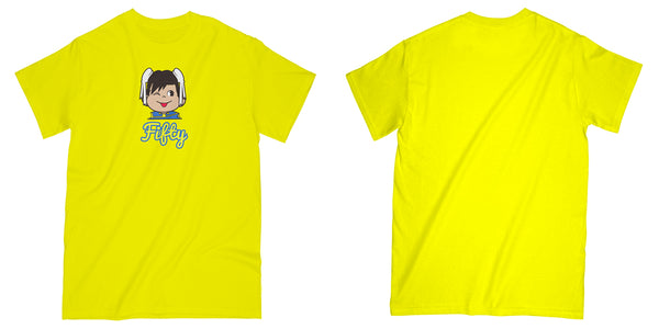 Bon Bon Tee in Yellow