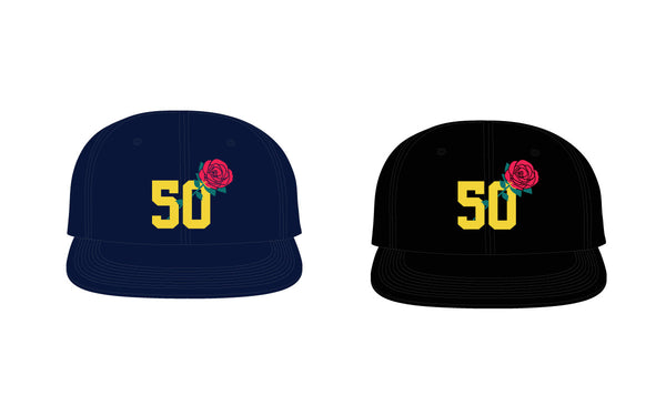 The 50 Rose Snapback