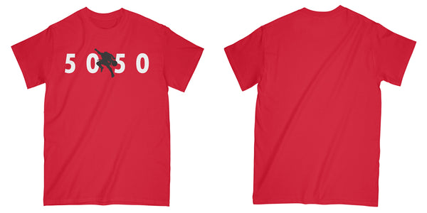 Air Devour Tee in Red