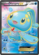 Manaphy EX (Full Art) - BREAKpoint (#116)
