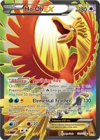 Ho-Oh EX (Full Art) - BREAKpoint (#121)