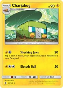 Charjabug (Reverse) - SM Base Set (#51)