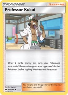 Professor Kukui - SM Base Set (#128)