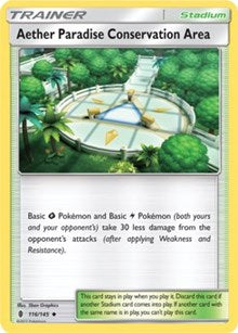 Aether Paradise Conservation Area (Reverse) - SM Guardians Rising (#116)