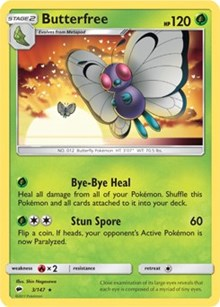 Butterfree (Reverse) - SM Burning Shadows (#3)