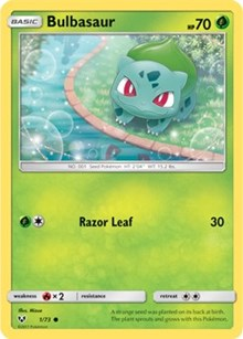 Bulbasaur (Reverse) - Shining Legends (#1)