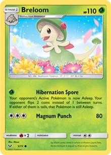 Breloom (Reverse) - Shining Legends (#5)