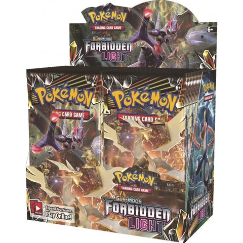 Sun & Moon: Forbidden Light Booster Case