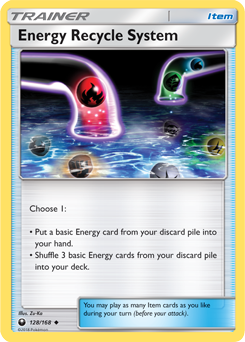 Energy Recycle System - SM Celestial Storm (#128)