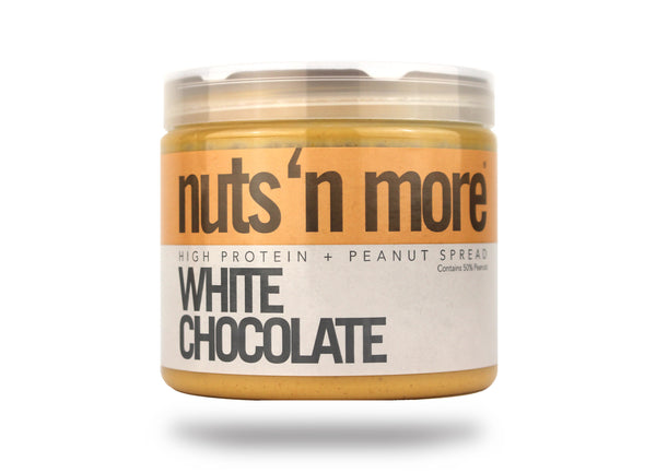 nuts 'n more - High Protein White Chocolate Peanut Butter