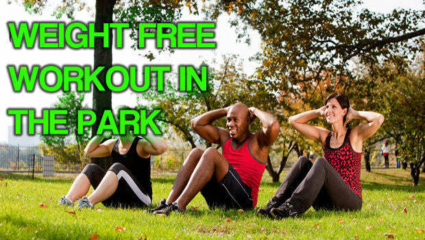 LOSE WEIGHT AND GET FIT USING YOUR SPEED ROPE IN THE PARK