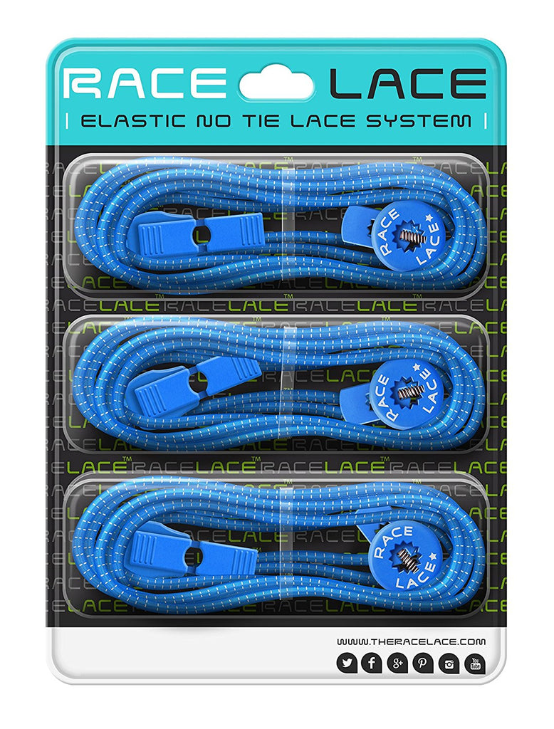 Race Lace - 3x Elastic No Tie Laces