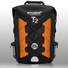 T2 Waterproof Transition Rucksack - Black/Orange