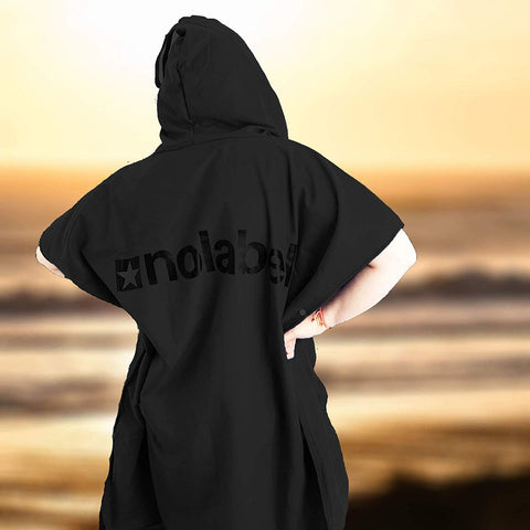 Adults Changing Poncho Towel - Outdoor Dryrobe With Hood