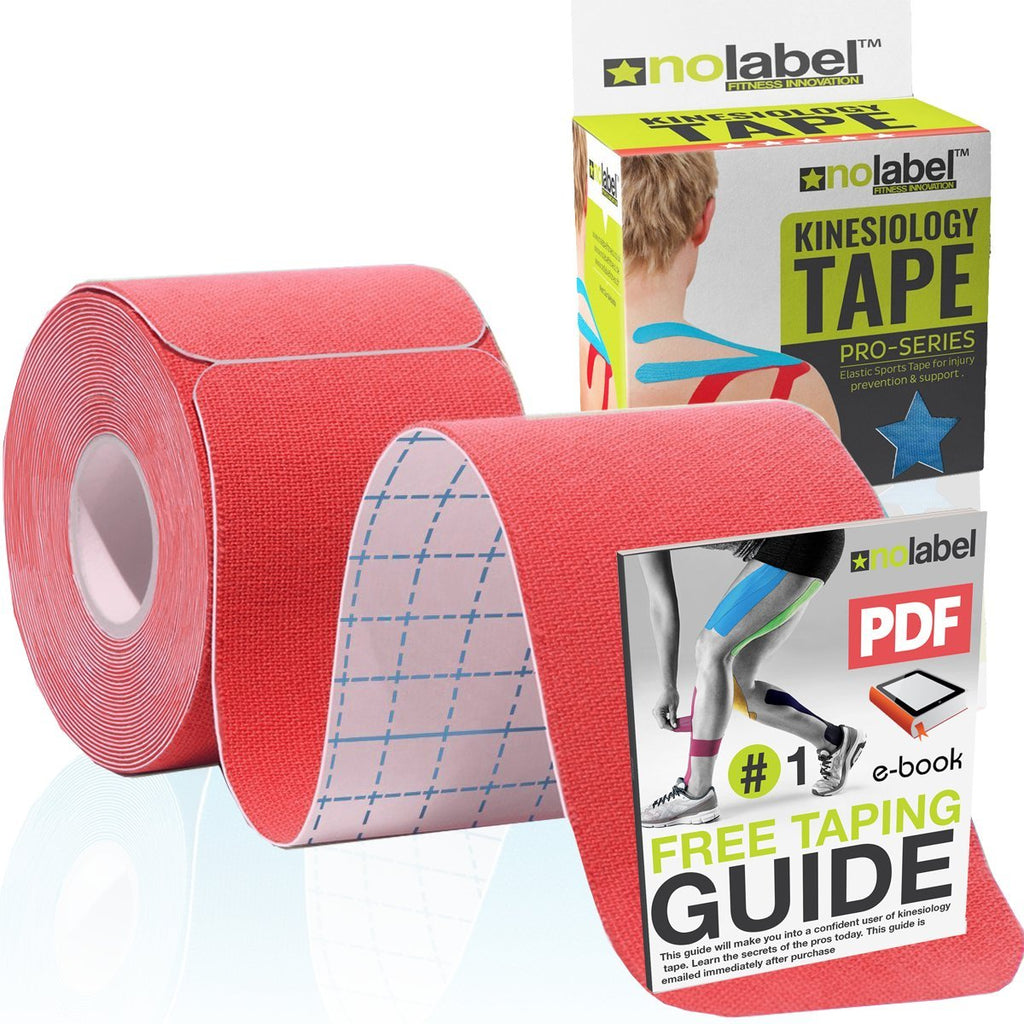 PRO-SERIES - Pre Cut Kinesiology Tape