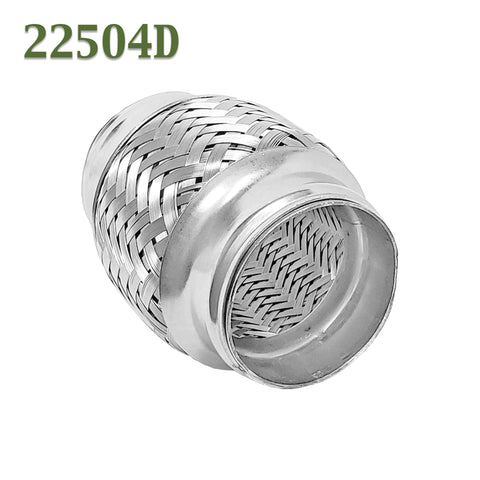 "2.25"" x 4"" Flex Pipe Coupling Quality Stainless Steel Triple Ply"