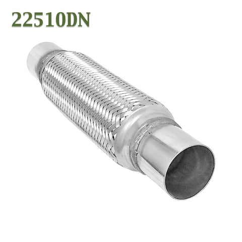 "2.25""x 10"" w Ends Flex Pipe Coupling Quality Stainless Steel Triple Ply"