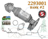 Direct Fit Catalytic Converter Bank 2 for PO430 Enclave Traverse Acadia Outlook