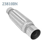 "2 3/8 x 10 x 14"" in. Flex Pipe Exhaust Coupling Stainless Heavy Duty w/ Ends"