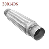 "3"" x 14"" w/ Ends Flex Pipe Coupling Quality Stainless Steel Triple Ply"