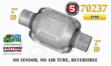 "70237 Eastern Universal Catalytic Converter Standard Catalyst 2"" Pipe 6"" Body - Bear River Converters"