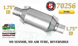 "70256 Eastern Universal Catalytic Converter Standard 1.75"" 1 3/4"" Pipe 10"" Body - Bear River Converters"