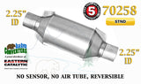 "70258 Eastern Universal Catalytic Converter Standard 2.25"" 2 1/4"" Pipe 10"" Body - Bear River Converters"