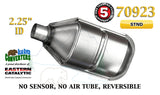 "70923 Eastern Universal Catalytic Converter Standard 2.25"" Pipe 13.5"" Body - Bear River Converters"
