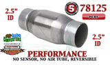 "78125 Eastern Universal Catalytic Converter Performance 2.5"" Pipe 4.75"" Body - Bear River Converters"