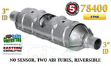 "Eastern Universal Catalytic Converter Torpedo Standard 3"" Pipe 23"" Body 78400"
