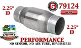 "79124 Eastern Universal Catalytic Converter Performance 2.25"" Pipe 4.75"" Body - Bear River Converters"