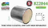"822044 Eastern Universal Tube Canister Catalytic Converter ECO II 4"" Body - Bear River Converters"