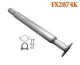 FX2074K Exhaust Flange Resonator Repair Pipe Buick Century Regal Chevrolet Impala Monte Carlo Oldsmobile Intrigue Pontiac Grand Prix