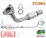 FX2084 Semi Direct Fit Exhaust Flange Repair Flex Pipe Replacement Kit With Gasket