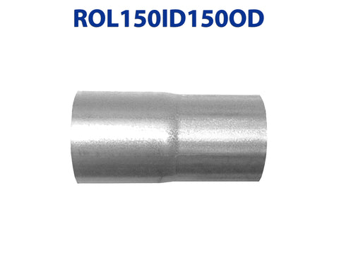 "ROL150ID150OD 548531 1 1/2"" ID to 1 1/2"" OD Universal Exhaust Pipe to Component Coupling Connector"