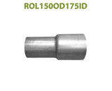 "ROL150OD175ID 548533 1 1/2"" OD to 1 3/4"" ID Universal Exhaust Component to Pipe Adapter Reducer"