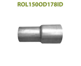 "ROL150OD178ID 548534 1 1/2"" OD to 1 7/8"" ID Universal Exhaust Component to Pipe Adapter Reducer"