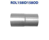 "ROL158ID158OD 548539 1 5/8"" ID to 1 5/8"" OD Universal Exhaust Pipe to Component Coupling Connector"