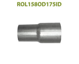 "ROL158OD175ID 548552 1 5/8"" OD to 1 3/4"" ID Universal Exhaust Component to Pipe Adapter Reducer"