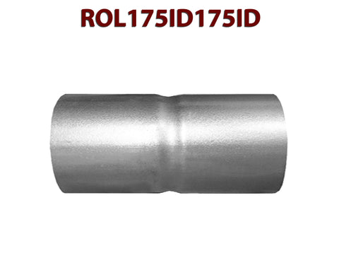 "ROL175ID175ID 548529 1 3/4"" ID to 1 3/4"" ID Universal Exhaust Pipe to Pipe Coupling Connector"