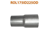 "ROL175ID225OD 548556 1 3/4"" ID to 2 1/4"" OD Universal Exhaust Pipe to Component Adapter Reducer"