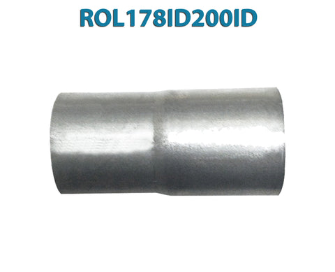 "ROL178ID200ID 548544 1 7/8"" ID to 2"" ID Universal Exhaust Pipe to Pipe Adapter Reducer"