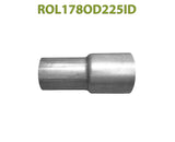 "ROL178OD225ID 548509 1 7/8"" OD to 2 1/4"" ID Universal Exhaust Component to Pipe Adapter Reducer"